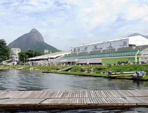 LEGADO DO PAN: Estádio de remo da lagoa (Foto: Alexandre Durão / Globoesporte.com)