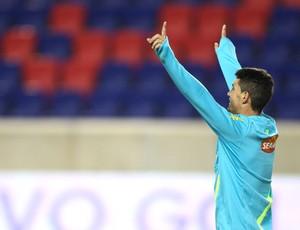 Thiago Neves, treino da Seleção (Foto: Mowa Press)