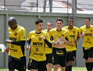 Treino do Sport (Foto: Aldo Carneiro/Pernambuco Press)