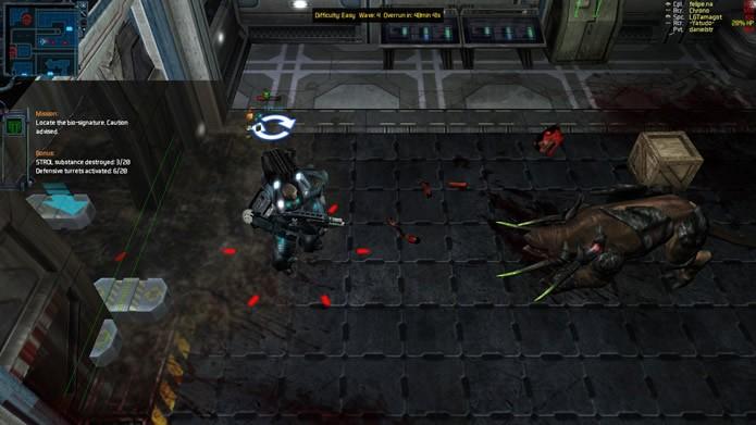 Alienígenas, insurgentes e mutantes irão ataca continuamente sua equipe de fuzileiros espaciais (Foto: Reprodução/Daniel Ribeiro)