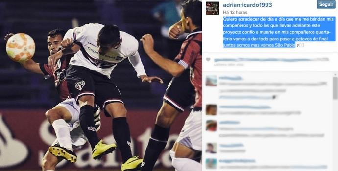 Reprodução Instagram Centurion São Paulo (Foto: Reprodução Instagram)