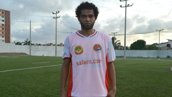 RN - Safern - Binha, atacante (Foto: Jocaff Souza/GloboEsporte.com)