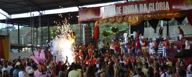 MUG é a campeã do carnaval de Vitória (Viviane Machado/ G1)