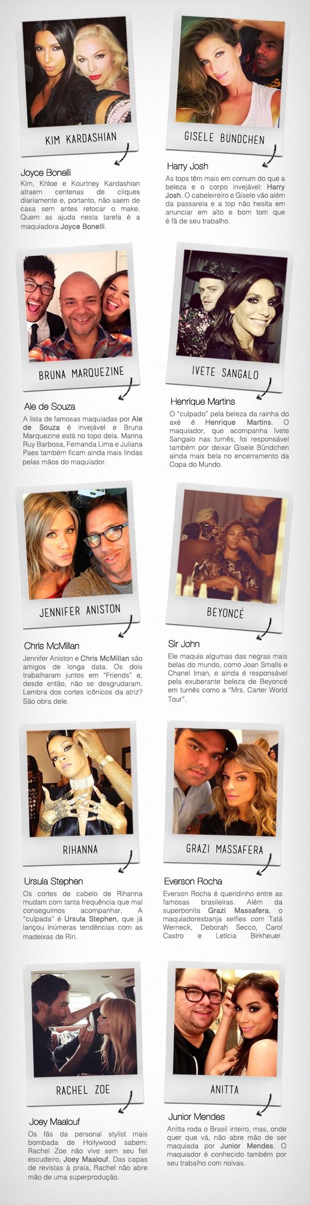 [620] Board Maquiadores das Famosas (Foto: Reproduo / Instagram)