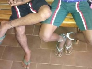 Adolescentes foram apreendidos no domingo (22) pelo assassinato de um pedreiro em Colinas do Tocantins (Foto: Divulgação/PM-TO)