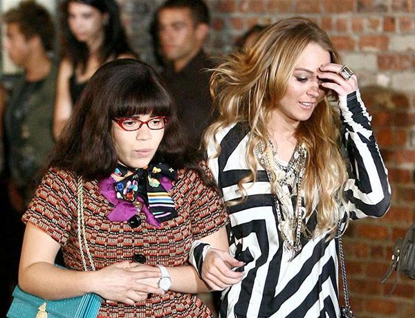 Lindsay Lohan e America Ferrera (Foto: Reprodução)
