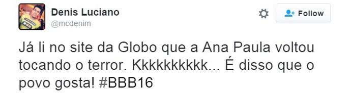Ana-volta-bbb16-11 (Foto: TV Globo)