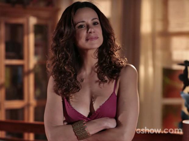 Vanessa Gerbelli revela cuidados básicos com a pele (Foto: Felipe Monteiro/ TV Globo)