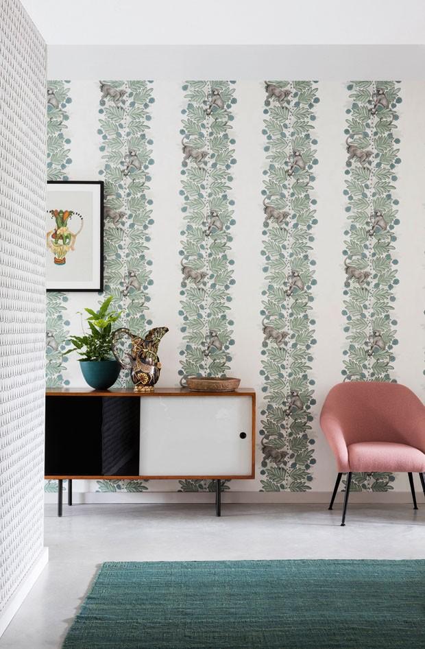 Cole o de pap is de parede inspirada nas belezas da - Papel paredes ikea ...