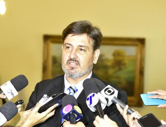 O novo diretor da Polícia Federal, Fernando Segóvia (Foto: Leonardo Duarte/Secom-ES)