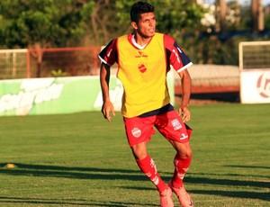 Pedro Júnior, atacante do Vila Nova (Foto: Zuhair Mohamad / O Popular)
