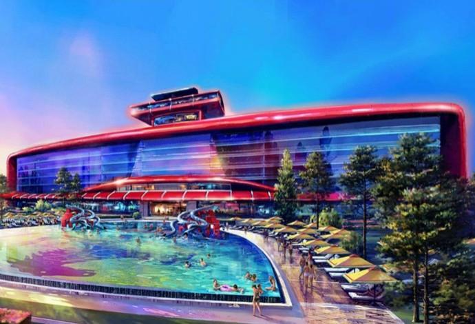 Com o novo projeto, a Ferrari quer atrair cerca de 4 milhões de turistas por ano (Foto: Divulgação)