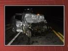PM morre ao bater carro em ônibus quando voltava de serviço na Bahia