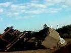 Motorista morre após caminhão bater em carro e tombar em Jundiaí