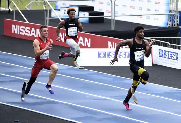 Richard Browne  Bolt contra o tempo (Foto: André Durão / Globoesporte.com)