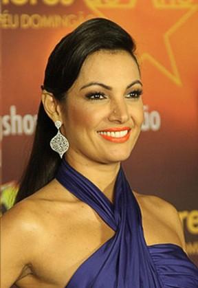 Make Patricia Poeta no Melhores do Ano (Foto: Claudio Andrade / FotoRioNews)
