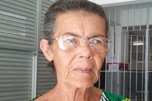 Osmaria Almeida de Freitas diz fez o Enem para manter a mente em dia (Foto: Marina Fontenele/G1)