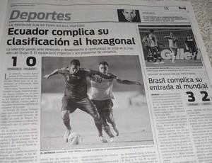 Jornal dá destaque ao sul-americano sub-20 (Foto: Hector Werlang/Globoesporte.com)