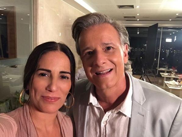Gloria Pires e Marcello Novaes (Foto: Reprodução/Instagram)