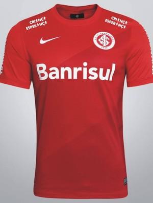 Inter utilizará camisa especial contra o Coxa (Foto: Divulgação)