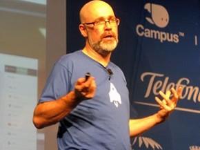 Mark Surman, diretor-executivo da Fundação Mozilla (Foto: Laura Brentano/G1)