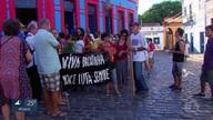 Parentes e amigos de arquiteta morta em Olinda protestam por mais segurança na cidade