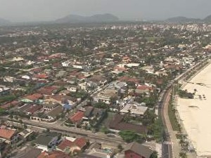 Guarujá, SP (Foto: Reprodução/TV Tribuna)