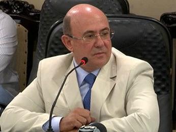 Ex-deputado José Riva foi ouvido na CPI da Copa na ALMT. (Foto: Reprodução/TVCA)
