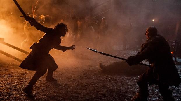Batalha de Castelo Negro, em Game of Thrones (Foto: Divulgação/HBO)