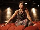'Me acho uma mulher sensual', diz atriz que faz a Delzuite de 'Salve Jorge'