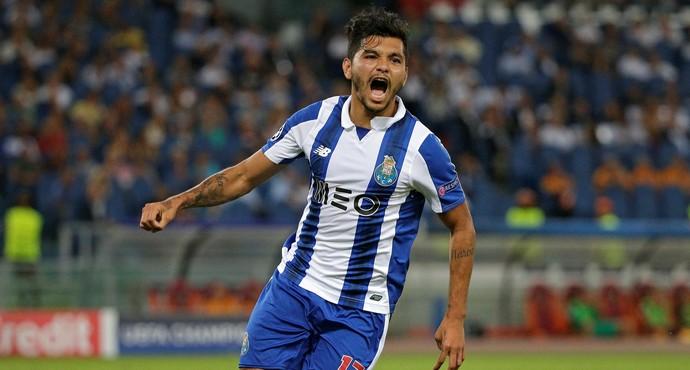 Jesús Corona Roma x Porto  (Foto: Reuters)