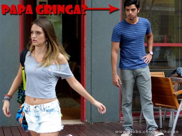Tadinha da Fatinha, né glr? Ela é puro amor! (Foto: Malhação / TV Globo)