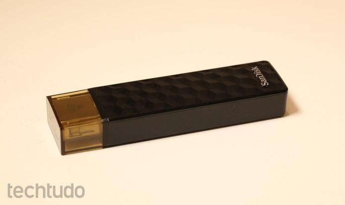 pendrive-wireless-sandisk (Foto: Caio Rosário/TechTudo)