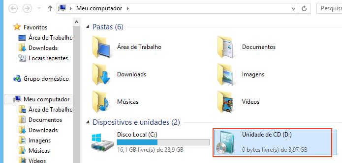 Iniciando o instalador do Windows 7 (Foto: reprodução/Edivaldo Brito)