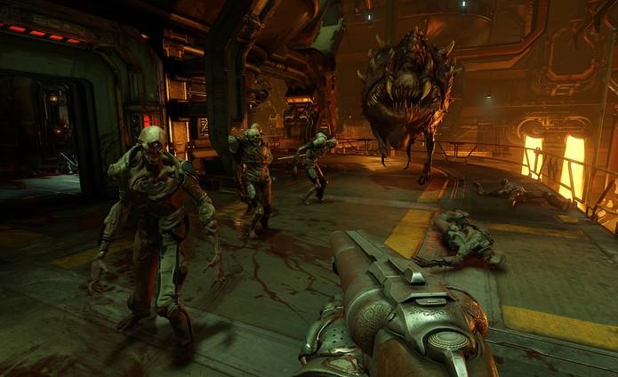 O novo Doom (Foto: Divulgação/id Software)