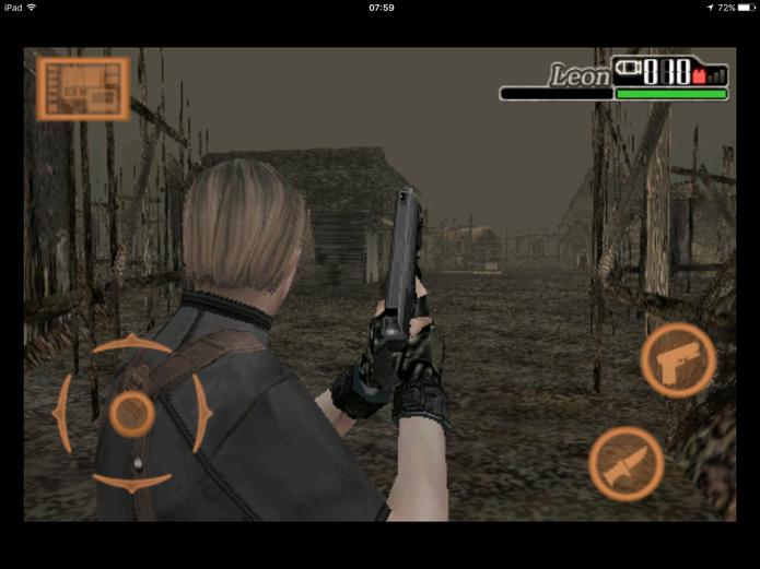 Os comandos básicos de Resident Evil 4 (Foto: Reprodução/Felipe Vinha)