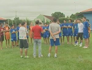 Ji-Paraná inicia treinos para o Rondoniense (Foto: Reprodução)