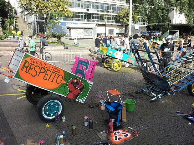 Pimp my carroça (Foto: Thiago Benicchio/Arquivo pessoal)