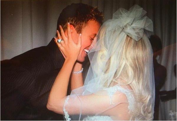 O casamento da socialite Kim Zolciak (Foto: Instagram)