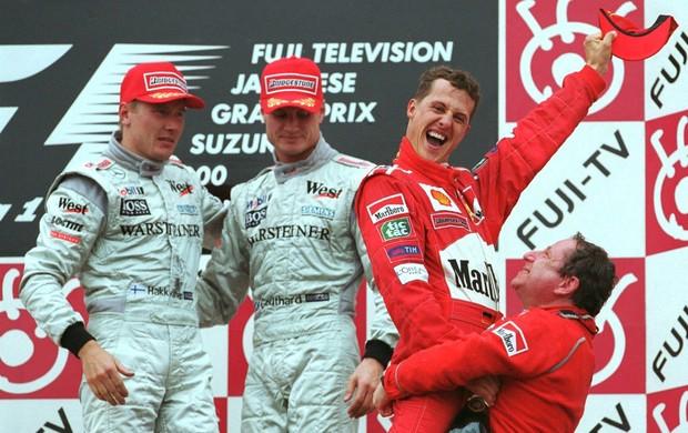 Michael Schumacher Gp Japão (Foto: Getty Images)