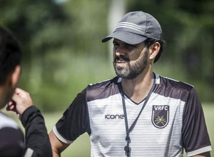 Cairo Lima teme que questão física atrapalhe o Voltaço (Foto: Wallace Feitosa/Volta Redonda FC)