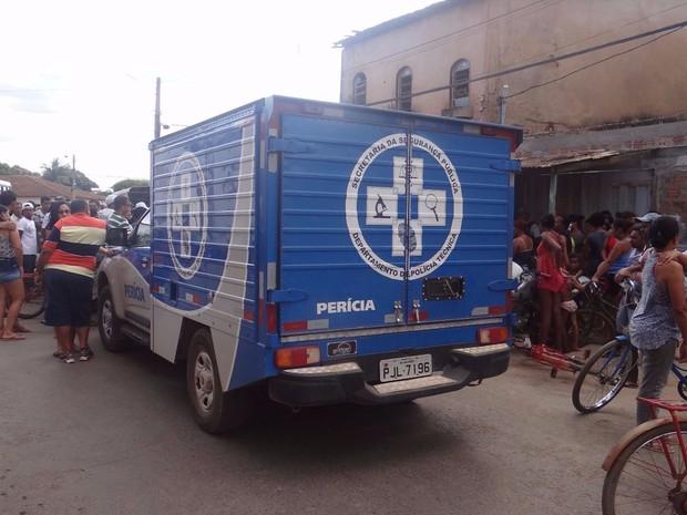 Autoria e motivação do crime são desconhecidas (Foto: Fernandez Fernandes/  Blog do Sigi Vilares)