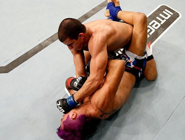 MMA felipe sertanejo e pepey (Foto: Agência Getty Images)