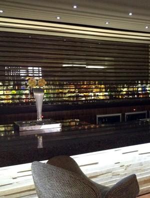 Bar ficará aberto, mas liberação das bebidas aos jogadores da França será restrita (Foto: Cleber Akamine)