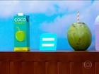 Fonte de sais minerais, água de coco é alternativa para hidratar o corpo