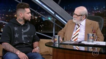 Jô Soares entrevista o campeão paralímpico Alan Fonteles