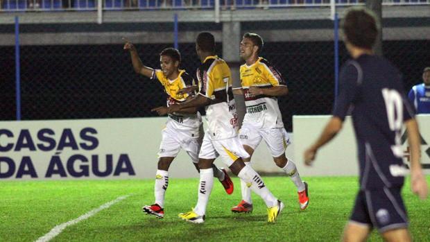 Fabinho Ivo Lins Guarani 1 x 2 Criciúma (Foto: Fernando Ribeiro/Criciúma EC)