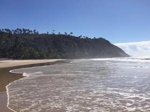Praias de Itacaré impressionam pela beleza e trilhas em Mata Atlântica (Foto: Rafaela Ribeiro/G1 BA)