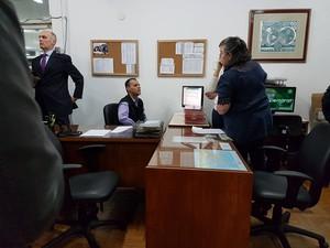 Juiz eleitoral de Petrópolis (Foto: Bruno Rodrigues/G1)