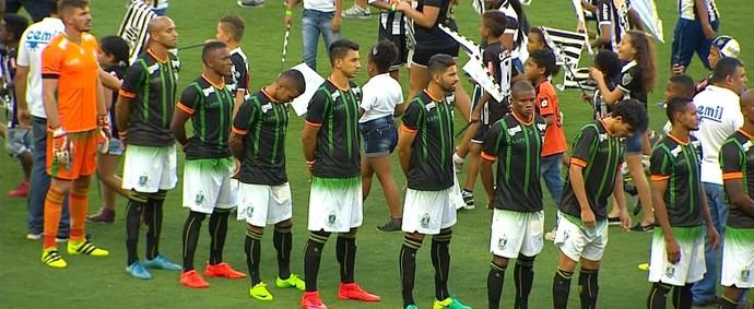 América-MG  (Foto: Reprodução/ TV Globo Minas)